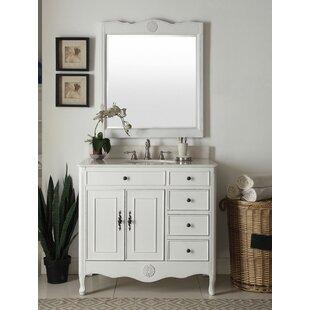 Lefler 38 Single Bathroom Vanity Set with Mirror by Ophelia & Co.