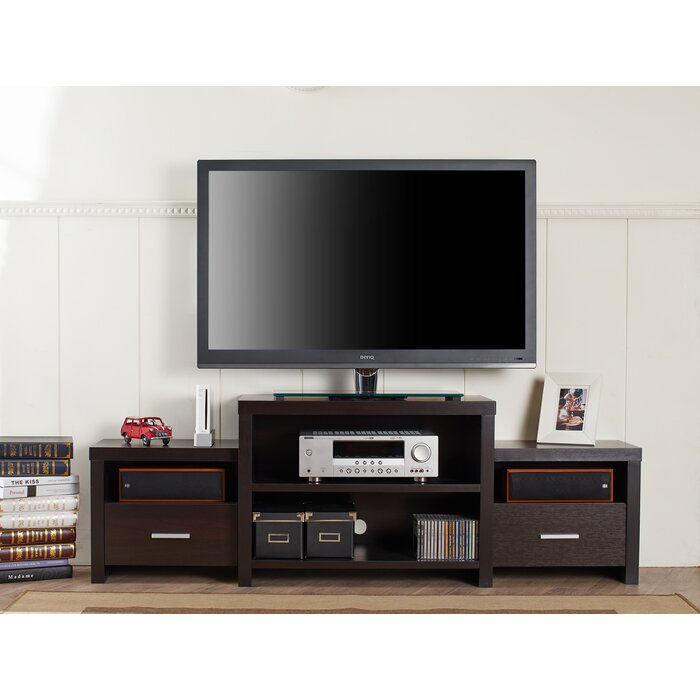 online store 8fc81 f43e4 Bexten Tiered TV Stand for TVs up to 65