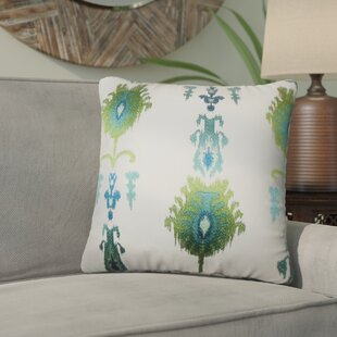 Gamble Ikat Cotton Throw Pillow (Set of 2)