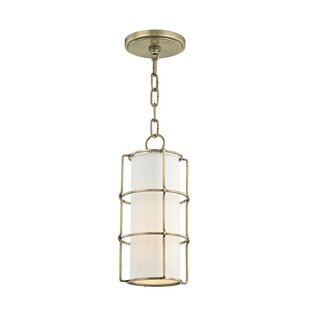 Tahlequah 1-Light Cylinder Pendant by Brayden Studio