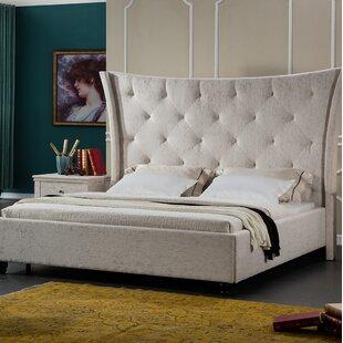 Comparison Framingham Upholstered Platform Bed by Brayden Studio Reviews (2019) & Buyer's Guide