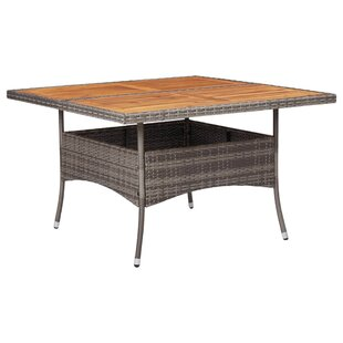 Adem Wood Dining Table By Sol 72 Outdoor