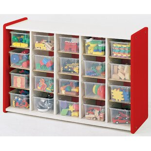 Read Reviews 1000 Series 20 Compartment Cubby with Tray ByTotMate