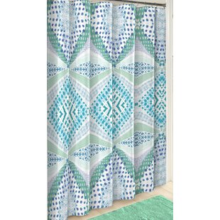 Kenny Boho Boutique Cotton Single Shower Curtain