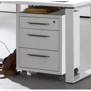 Disegno 3 Drawer Filing Cabinet By Mercury Row