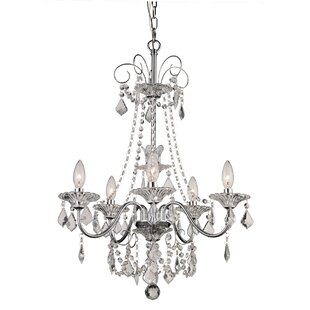 House of Hampton Jeter 5-Light Candle Style Chandelier