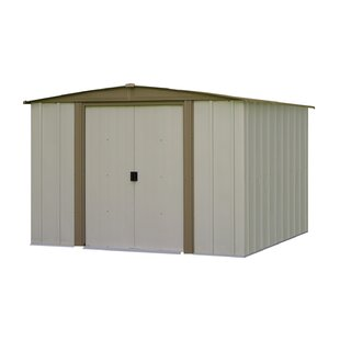 Bedford 8 Ft. W X 7.5 Ft. D Metal Storage Shed By Arrow