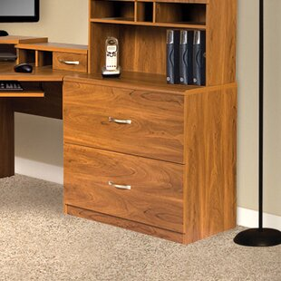 Leavy 2 Drawer Filing Cabinet by Millwood Pines