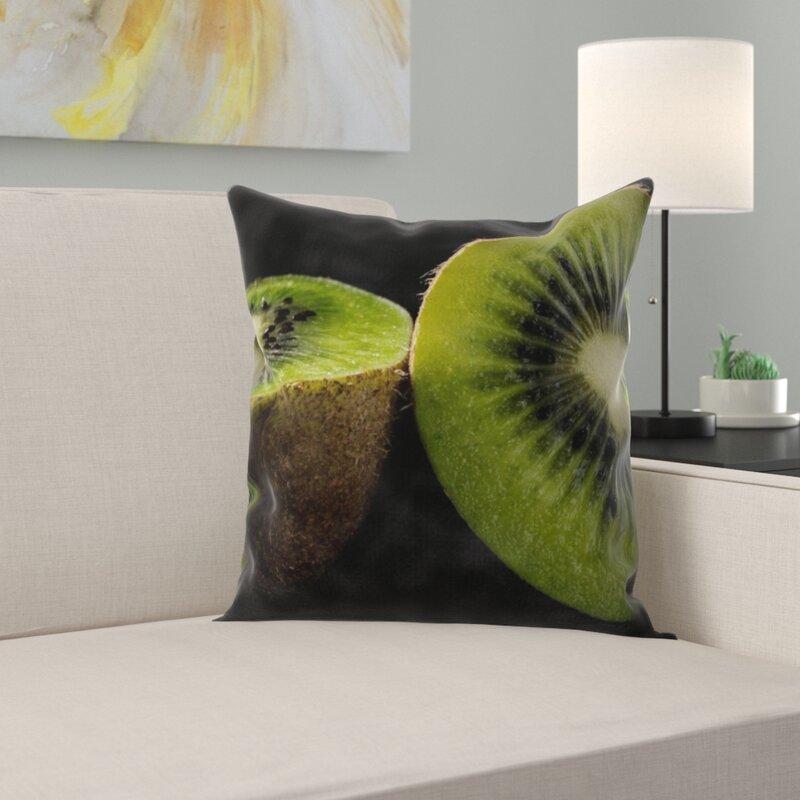 East Urban Home Kiwi Throw Pillow Wayfair