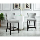 Aronson 26 Bar Stool (Set of 2) by Darby Home Co
