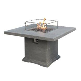Birmingham Concrete Gas Fire Pit Table Image