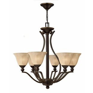 Hinkley Lighting Bolla 6-Light Shaded Chandelier