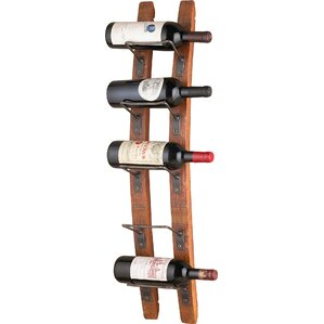 Blackburn 5 Bottle Wall Mounted Wine Rack by Trent Austin Design