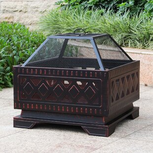 Steel Wood Burning Fire Pit By Abble Inc.