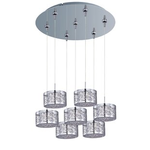 Marlie 7-Light Pendant and Canopy by Latitude Run