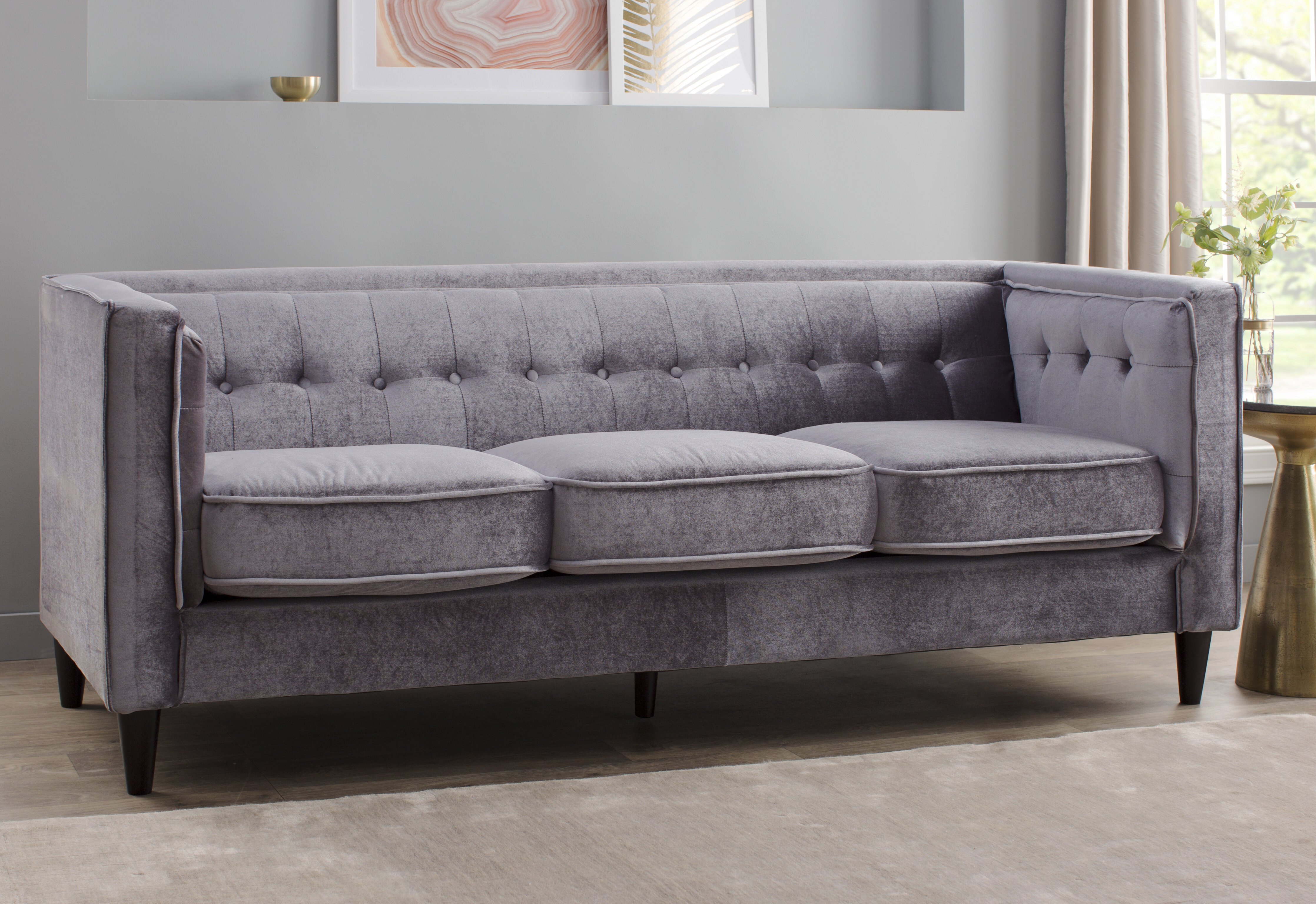 Willa Arlo Interiors Roberta Chesterfield Sofa Reviews Wayfair