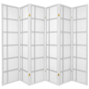 Bargain Marla 6 Panel Room Divider By World Menagerie