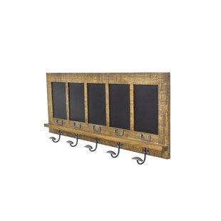 Evelin Blackboard Hanger Wall Mounted Coat Rack By Union Rustic