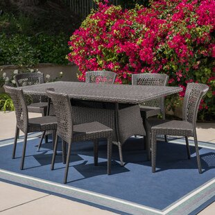 Grist Outdoor 7 Piece Dining Set