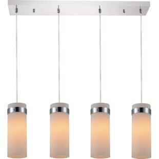 CWI Lighting Olovia 4-Light Kitchen Island Pendant