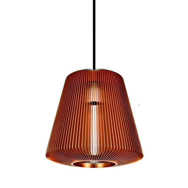 Wrought Studio Hollandsworth 1 Light Single Cone Pendant Wayfair