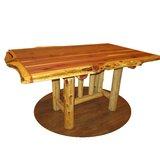Framlingham Trestle Solid Wood Dining Table by Loon Peak®
