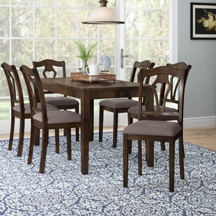 Hofer 7 Piece Dining Table Set by Alcott Hill