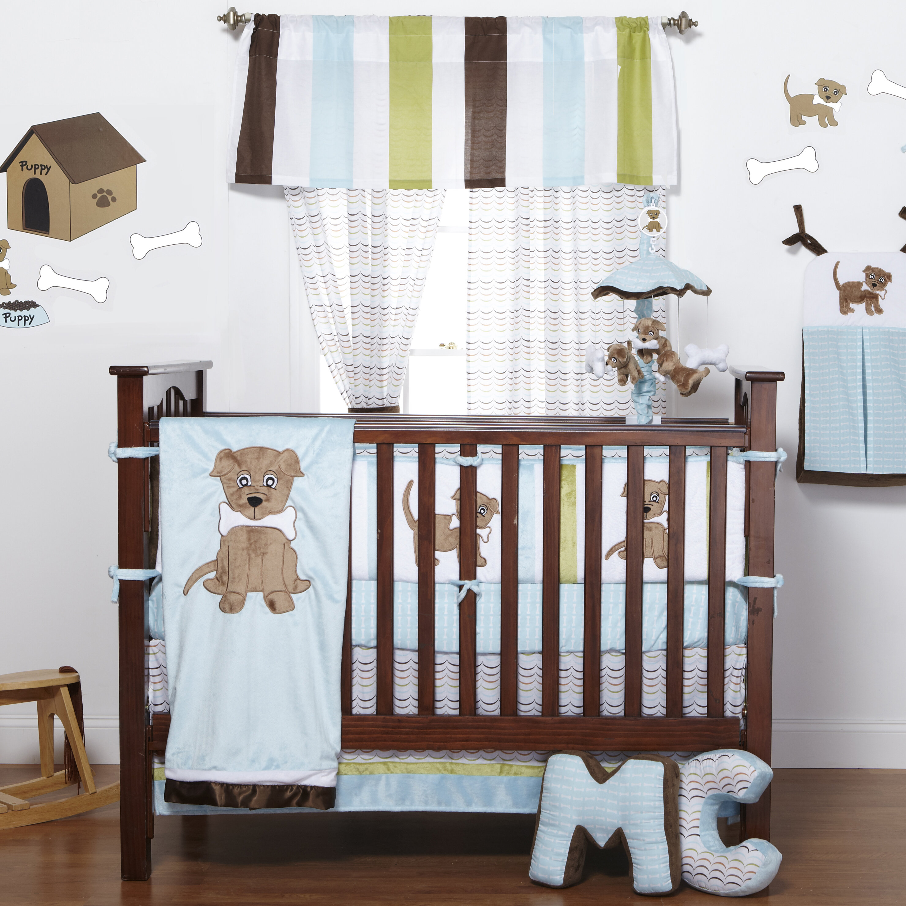 infant sheet crib cuddletime s skirt wid cribs qlt prod boy p pirates puppy spin hei comforter