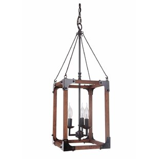 Ramani 3 Light Foyer Pendant By Union Rustic