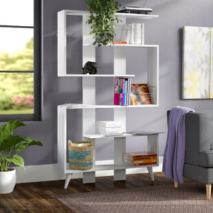 Gayton Modern Geometric Bookcase by Ebern Designs