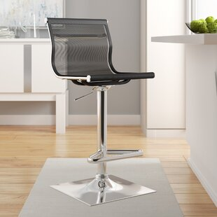 Bartow Adjustable Height Swivel Bar Stool