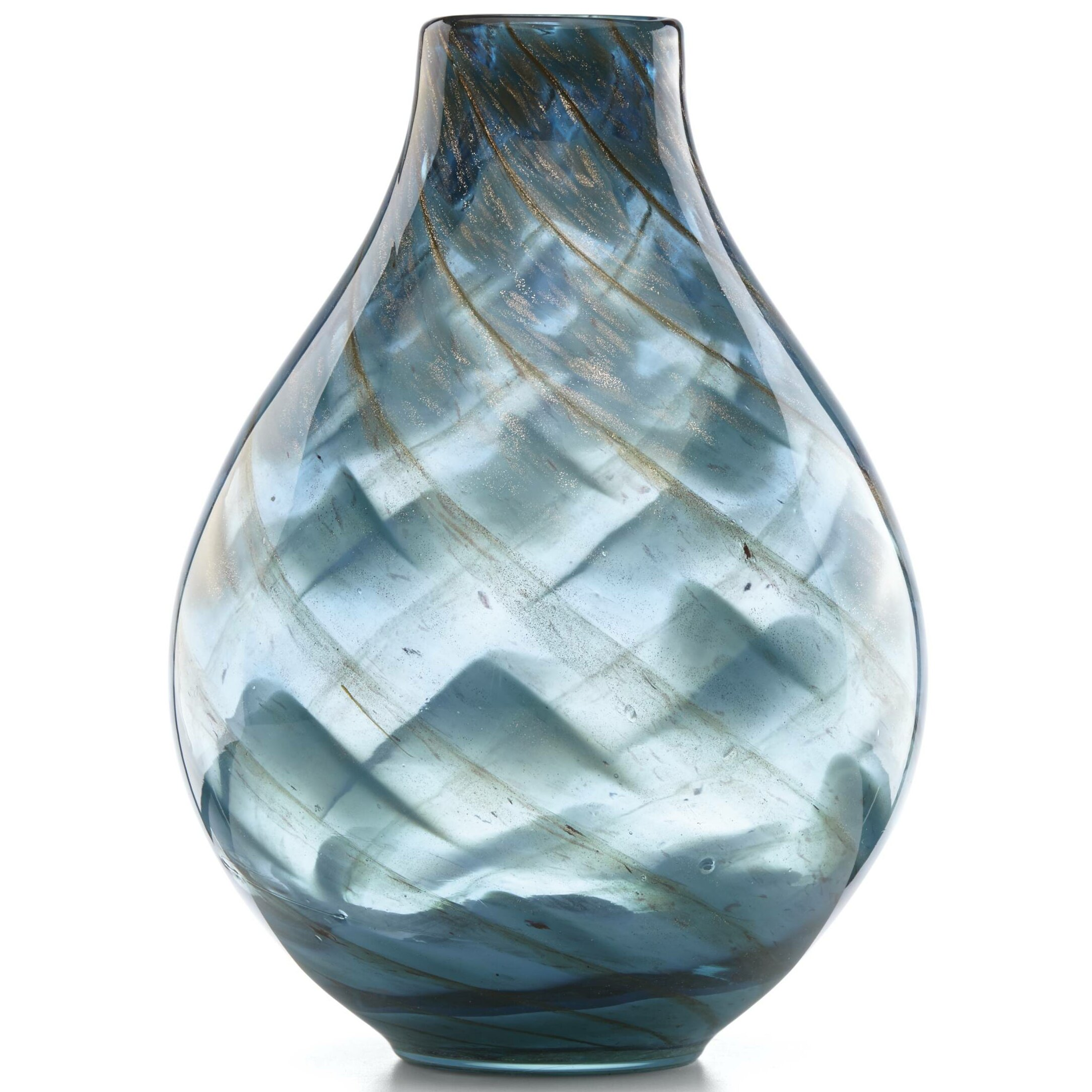1ffdb7b6b92419 Lenox Seaview Swirl Table Vase   Reviews