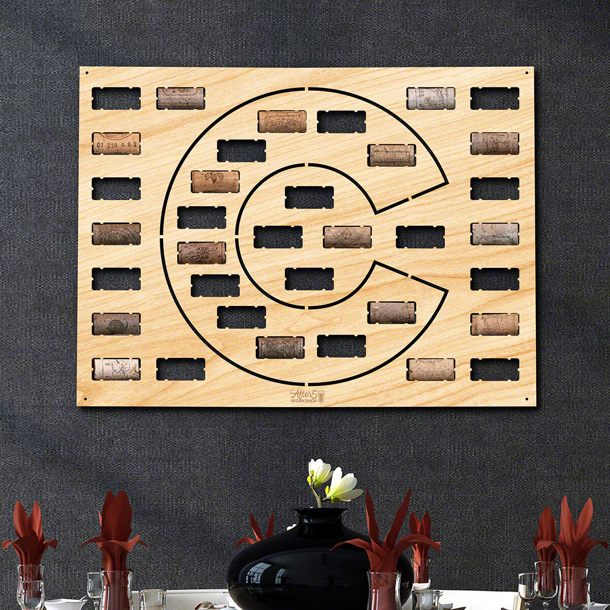 Millwood Pines Colorado Wine Cork Wall Décor | Wayfair