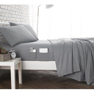 Ebern Designs Browner Bedside Pocket Sheet Set