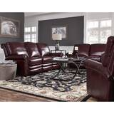 Barris Leather Reclining Configurable Living Room Set by Canora Grey