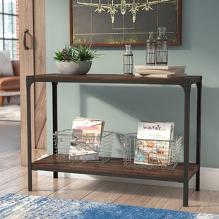 Ajax Wood/Metal Console Table