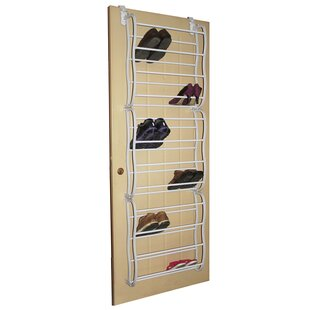 Shopping for 12-Tier 36 Pair Overdoor Shoe Organizer By Rebrilliant