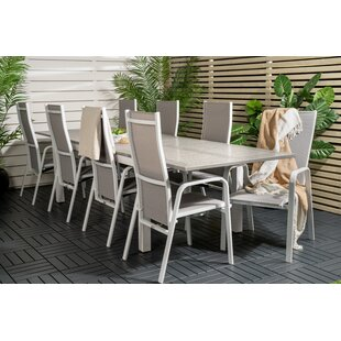 Jayesh 8 Seater Dining Set By Sol 72 Outdoor