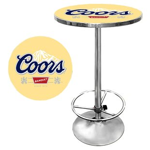 Coors Pub Table by Trademark Global