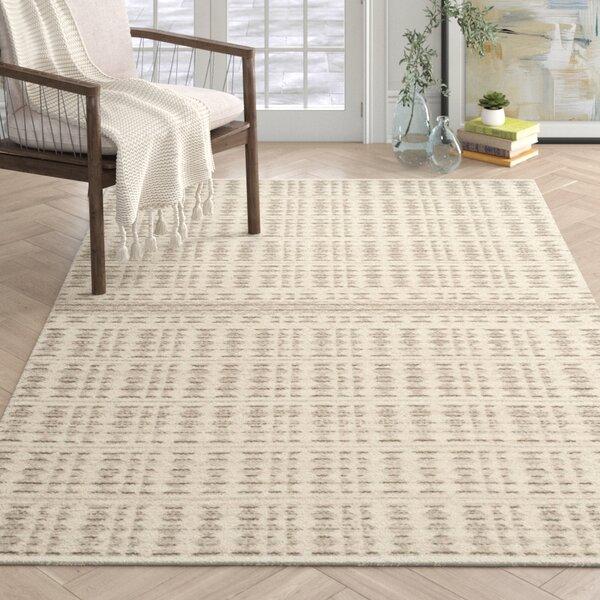 Witton Handwoven Flatweave Wool Ivory Area Rug Reviews Joss Main