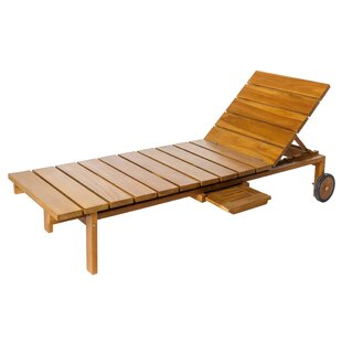 Wicklow Reclining Sun Lounger By Sol 72 Outdoor