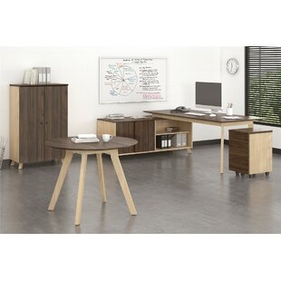 Buy luxury Barbosa Executive 4 Piece L-Shape Desk Office Suite By Ivy Bronx