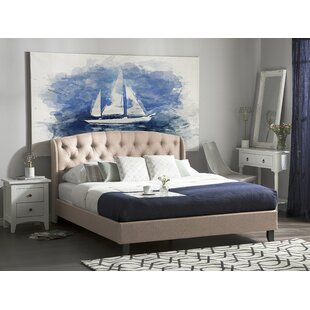 Freemont Upholstered Bed Frame By Ophelia & Co.