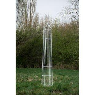 Troja Iron Obelisk Trellis Image