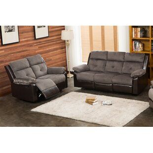 Tanna Reclining 2 Piece Living Room Set by Red Barrel Studio