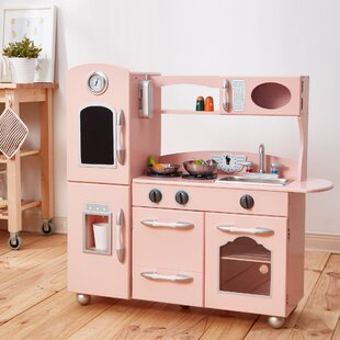 Pink Play Kitchen Sets Accessories You Ll Love Wayfair