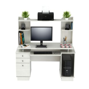 Latitude Run Santoro Computer Desk with H..