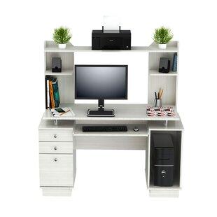 Latitude Run Santoro Computer Desk with Hutch