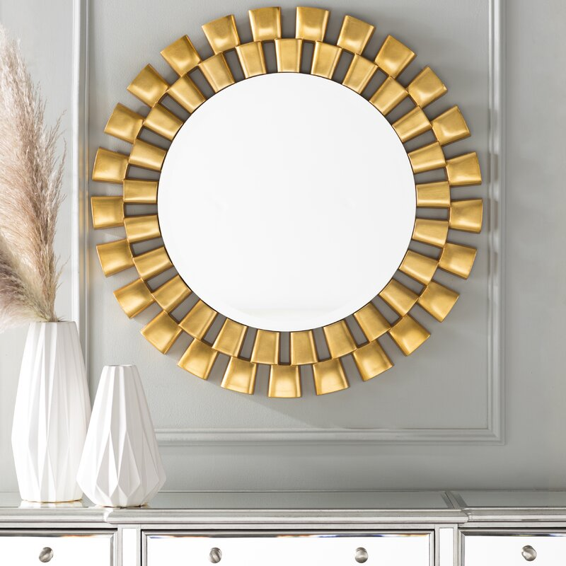 Willa Arlo Interiors Galm Sunburst Accent Mirror
