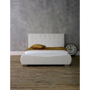 Adrian Upholstered Bed Frame By Wade Logan